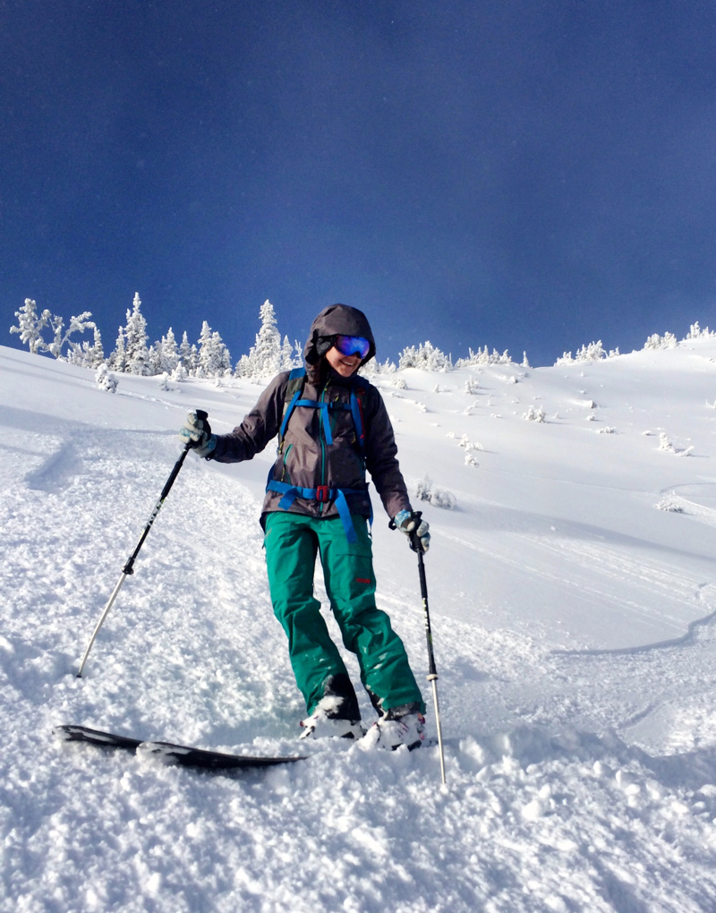Kate Hourihan reviews the Stio Environ Jacket, Blister Gear Review