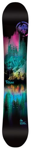 Christina Bruno reviews the Never Summer Raven for Blister Gear Review