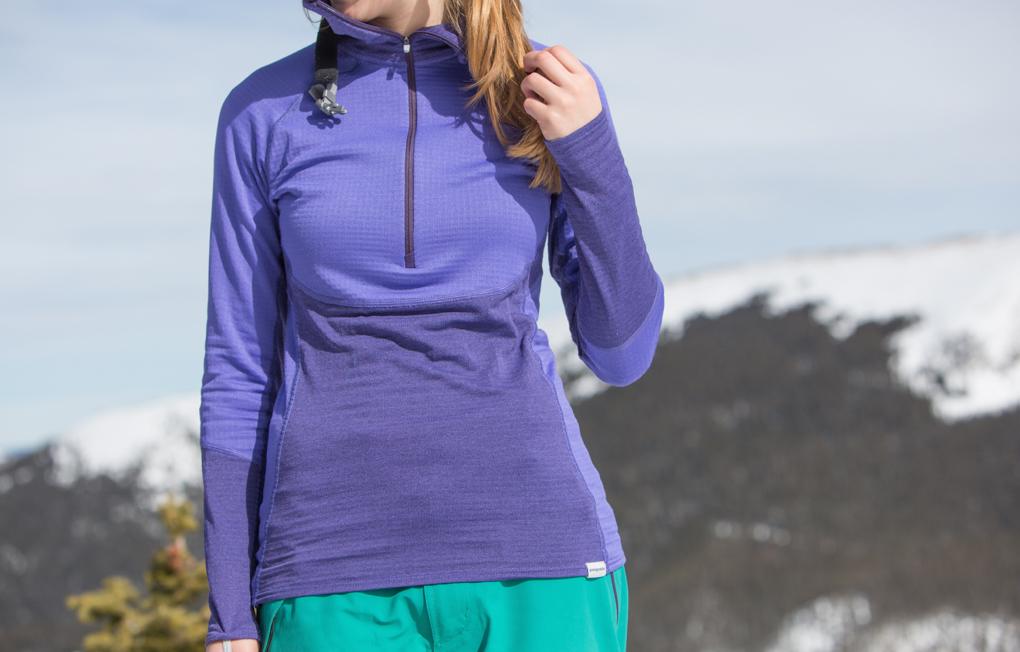Julia Van Raalte reviews the Patagonia Capilene 4 Pro Zip Neck, Blister Gear Review