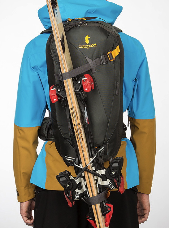 Brett Carroll reviews the Cotopaxi Cayambe 20L Ski Pack for Blister Gear Review