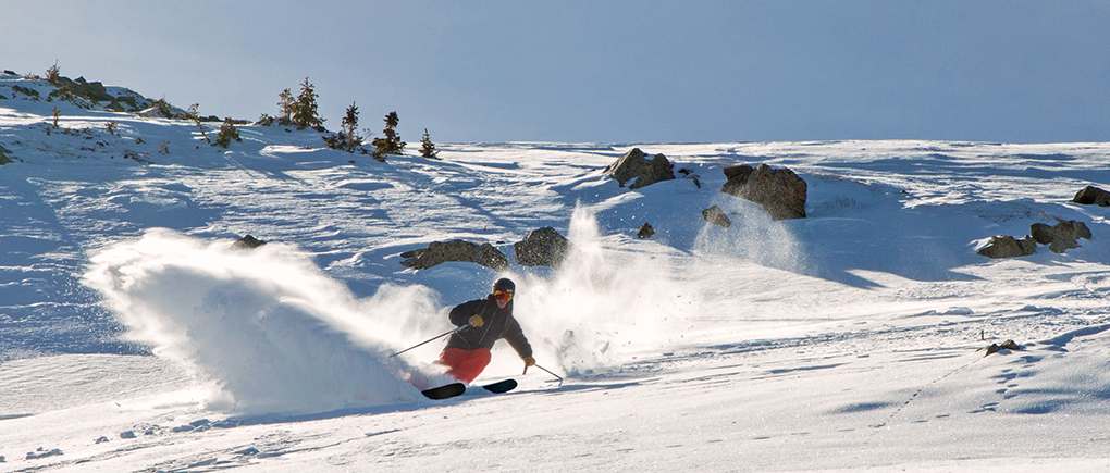 Will Brown reviews the Romp Skis 106, Blister Gear Review.