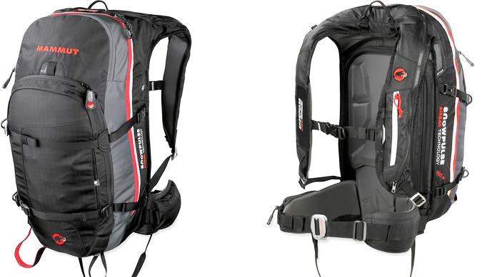 Sam Shaheen reviews the Mammut Pro Protection Airbag Pack (35L) for Blister Gear Review.