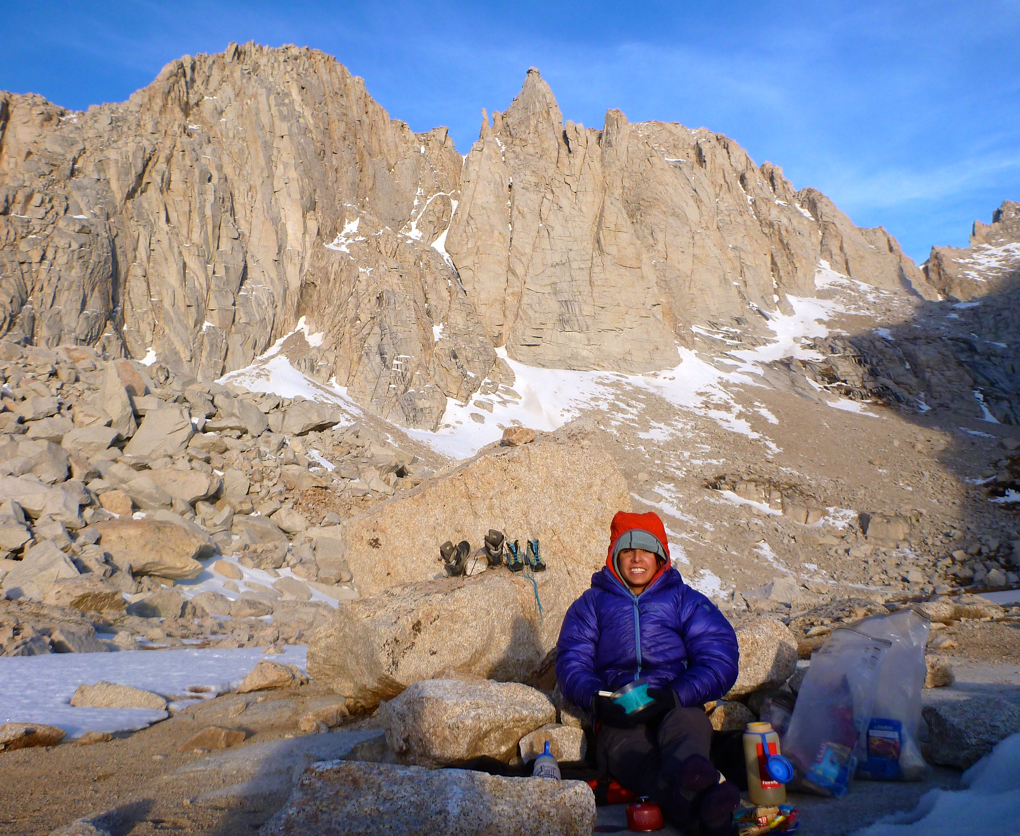 Hannah Trim reviews the Mountain Hardware Phantom Hooded Down Jacket, Blister Gear Review