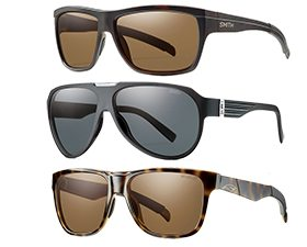 Jed Doane and Will Brown review Smith Optics sunglasses lenses for Blister Gear Review