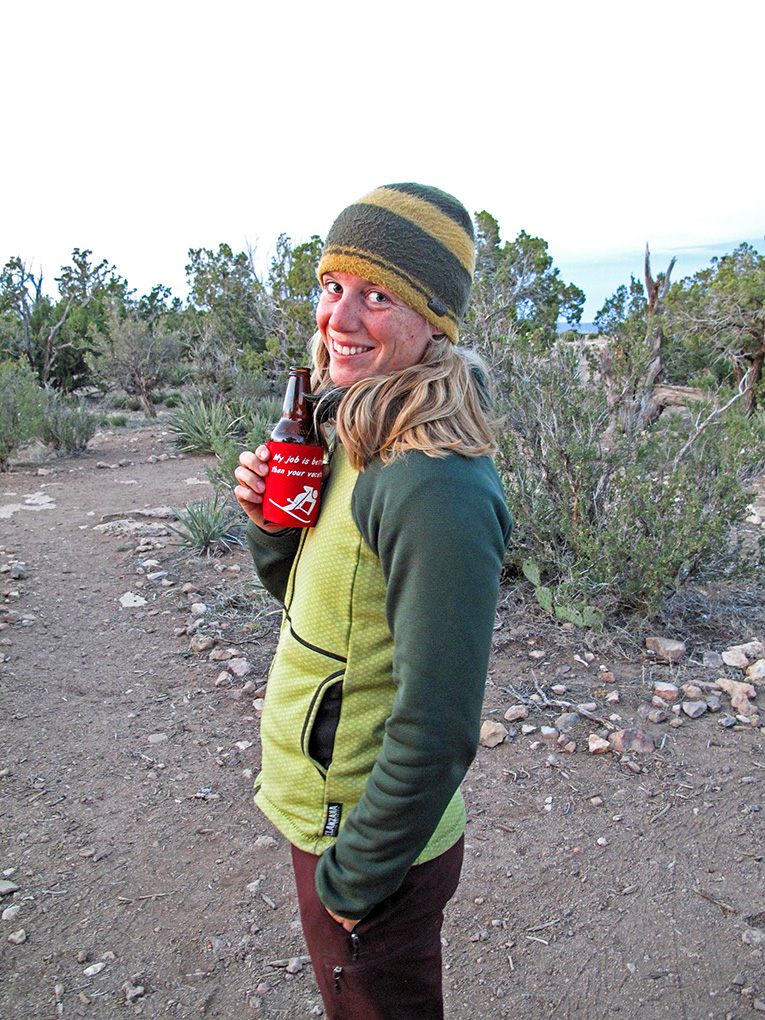 Anneka Door reviews the Melanzana Hard Face Hoodie for Blister Gear Review.