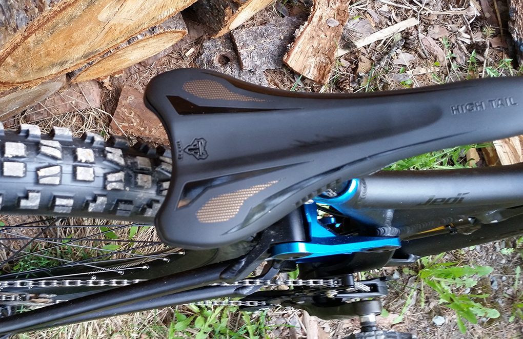 Noah Bodman reviews the WTB High Tail Carbon Saddle for Blister Gear Review.