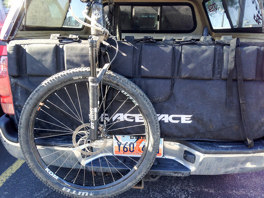 Marshal Olson reviews the RaceFace Tailgate Pad for Blister Gear Review