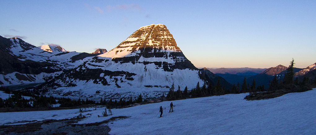 Cy Whitling trip report, Glacier National Park for Blister Gear Review