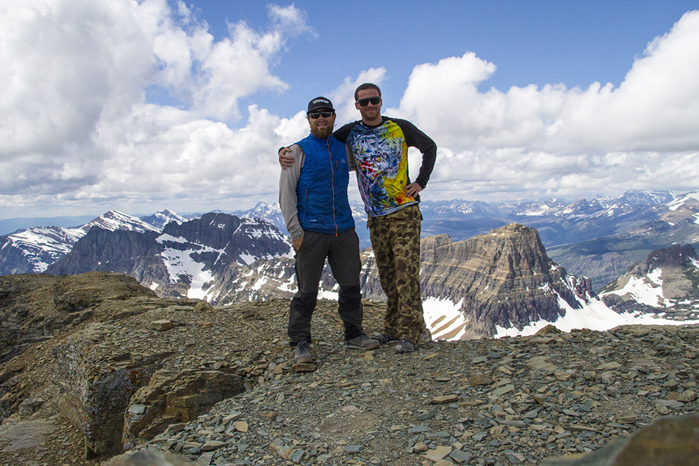 Cy Whitling's trip report of Glacier National Park for Blister Gear Review.