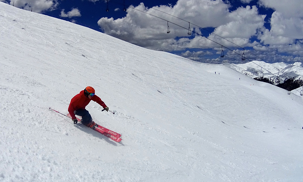 Jonathan Ellsworth reviews the Parlor Skis Cardinal 100 for Blister Gear Review
