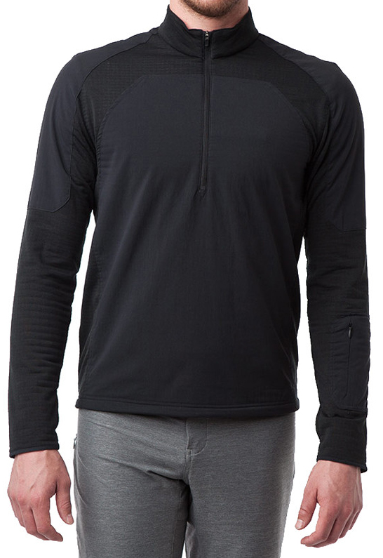 Tom Collier reviews the Giro Wind Guard 1/4 zip jersey for Blister Gear Review.