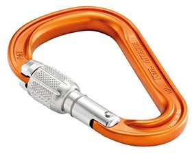 Matt Zia Reviews the Petzl Attache Carabiner for Blister Gear Review