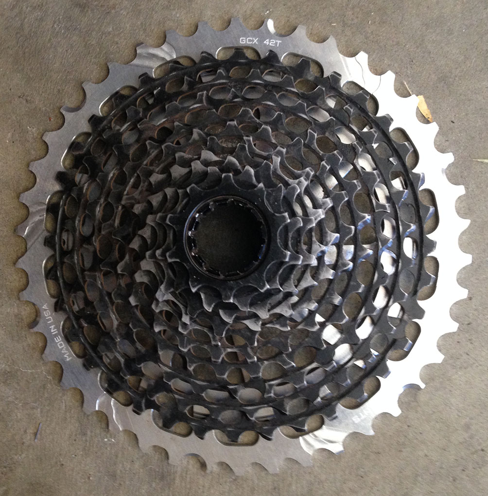 Marshal Olson reviews the Wolftooth components GCX 42T Replacement Cog for Blister Gear review.