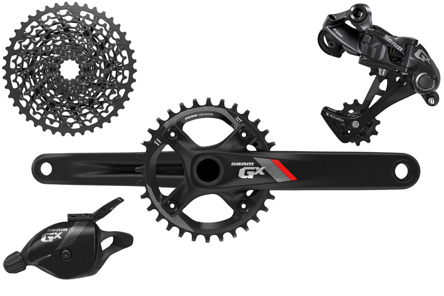 Tom Collier reviews the SRAM GX 1x11 drivetrain for Blister Gear Review.