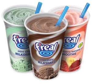 Cy Whitling reviews the F'real smoothie for Blister Gear Review