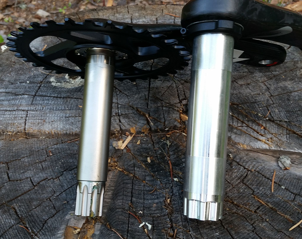 Noah Bodman reviews the 2015 Race Face SixC Carbon Cinch Cranks for Blister Gear Review.
