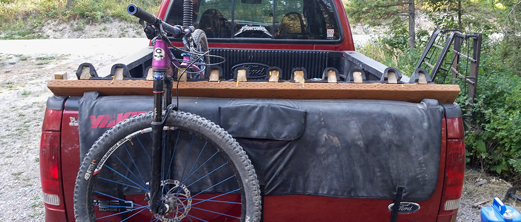 Noah Bodman Tailgate Rack improvement for Blister Gear Review