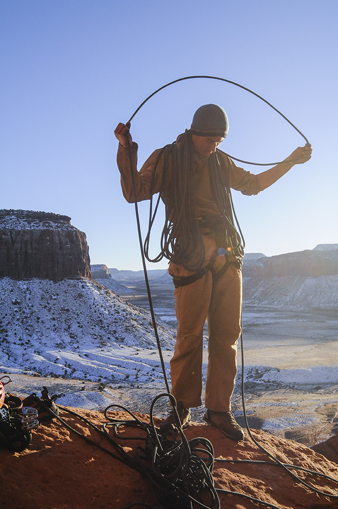 Matt Zia reviews the Petzl Contact rope for Blister Gear Review.