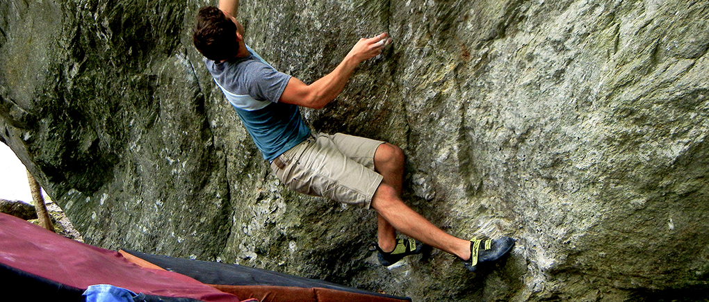 Jamie Rushford reviews the SCARPA Furia Climbing shoe for Blister Gear review.