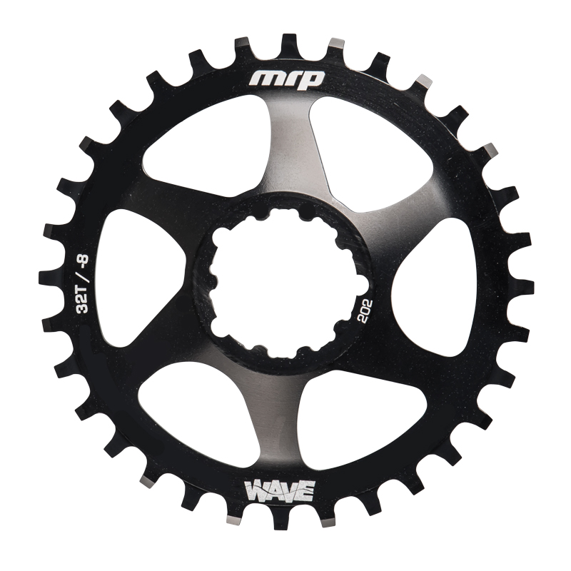 Tom Collier reviews the MRP Wave narrow/wide chainring for Blister Gear Review.