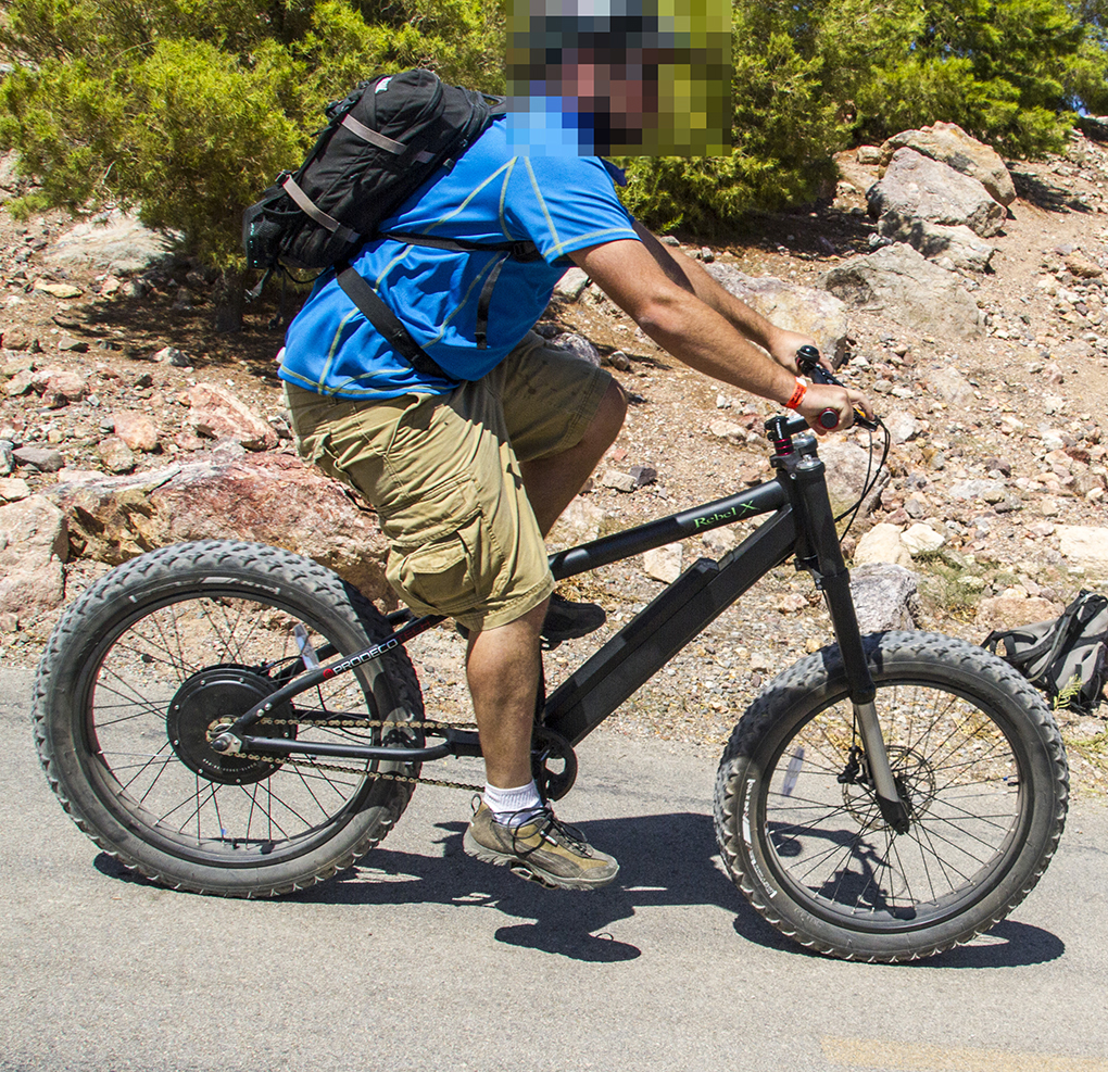 Cy Whitling Interbike for Blister Gear Review