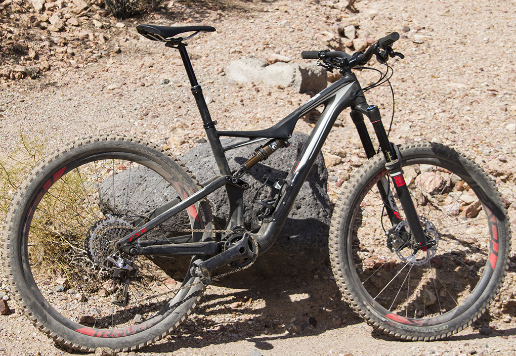 Noah Bodman reviews the Specialized S-Works Stumpjumper FSR 650b for Blister Gear Review