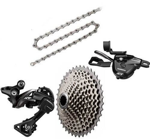 Tom Collier reviews the Shimano XT 11 speed drivetrain for Blister Gear Review.