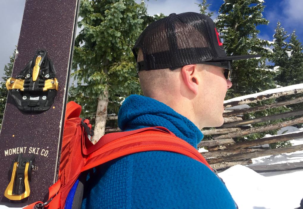 Jonathan Ellsworth reviews the Patagonia Merino Air Hoody for Blister Gear Review