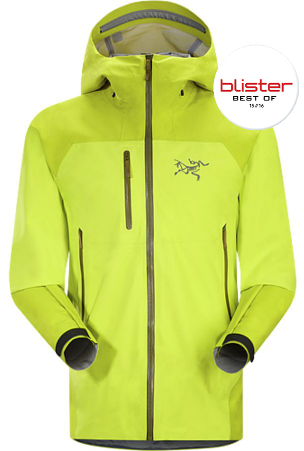 Jonathan Ellsworth reviews the Arc'teryx Tantalus jacket for Blister Gear Review.