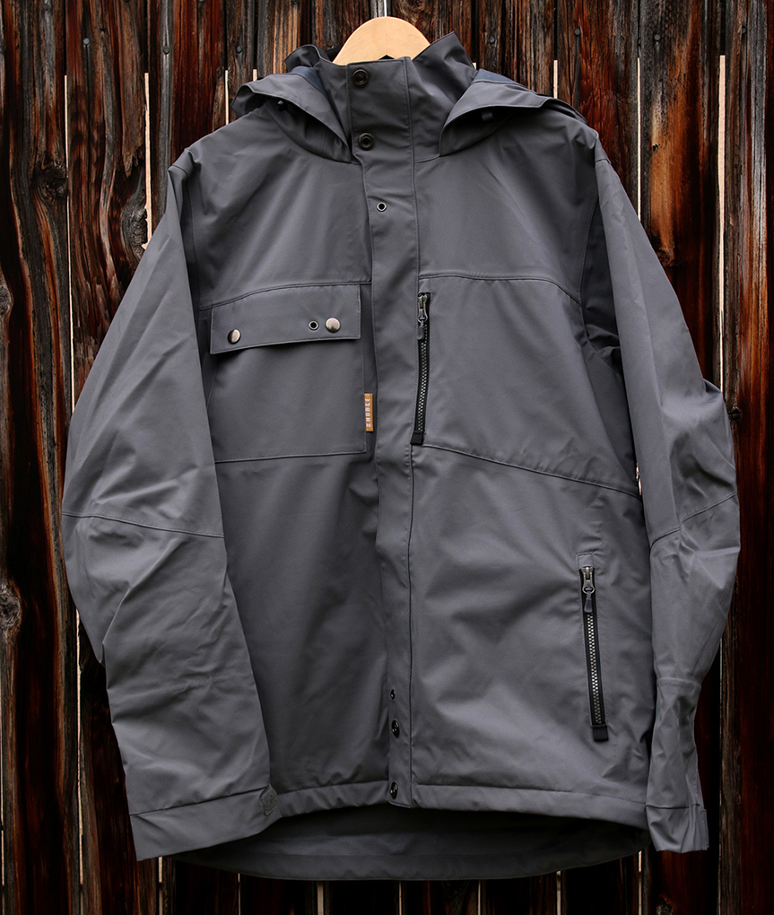 Cy Whitling reviews the noble standard jacket for Blister Gear Review.
