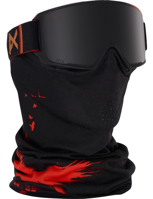 Cy Whitling reviews the Anon M3 MFI Goggle for Blister Gear Review