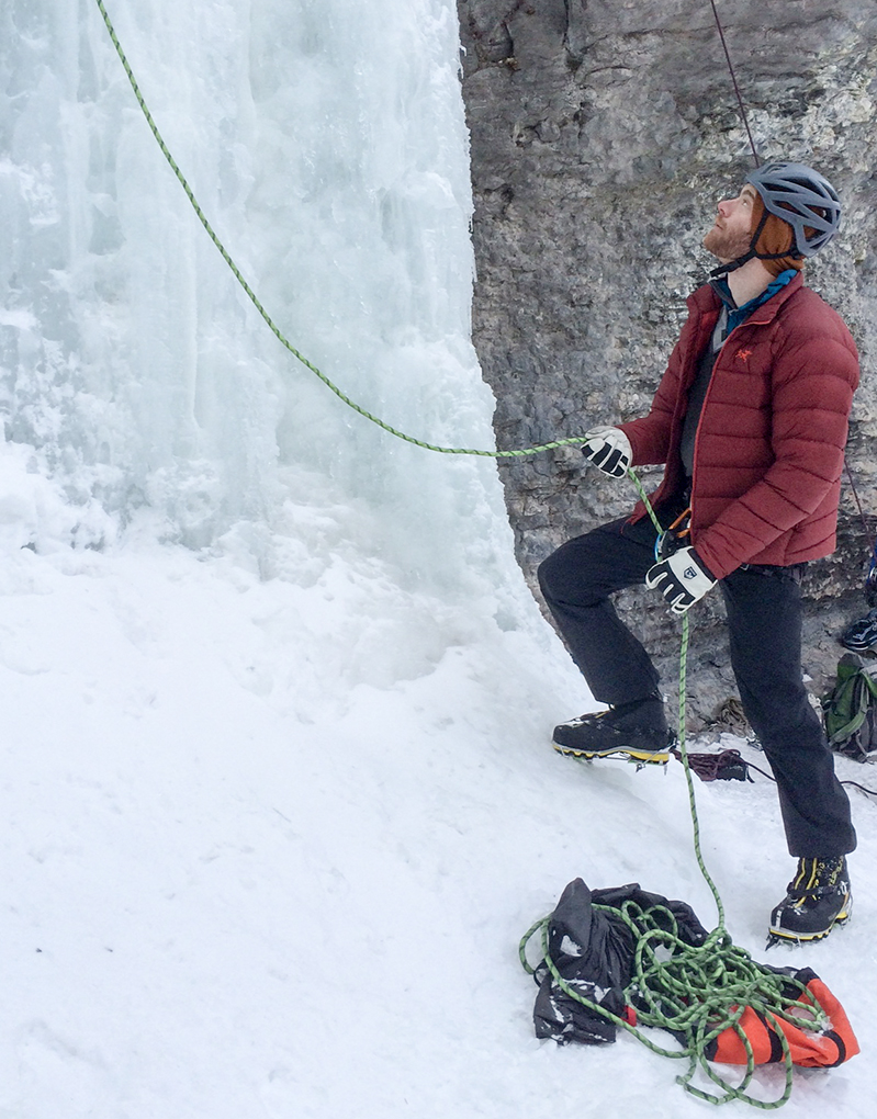 Dave Alie reviews the Arc'teryx Cerium SV Jacket for Blister Gear Review
