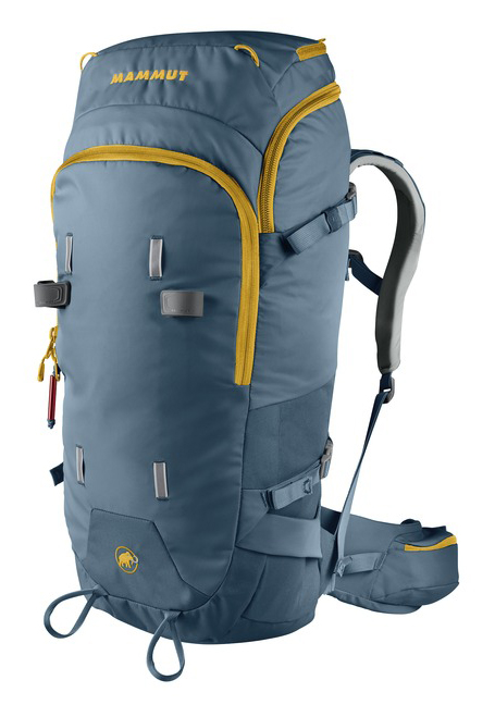 Cy Whitling reviews the Mammut Spindrift Guide pack for Blister Gear Review.