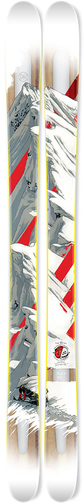 Jonathan Ellsworth reviews the J Skis the Metal for Blister Gear Review