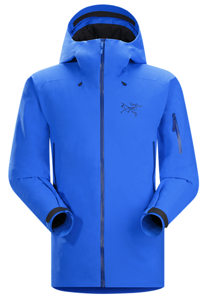 Jonathan Ellsworth reviews the Arc'teryx Fissile Jacket for Blister Gear Review.