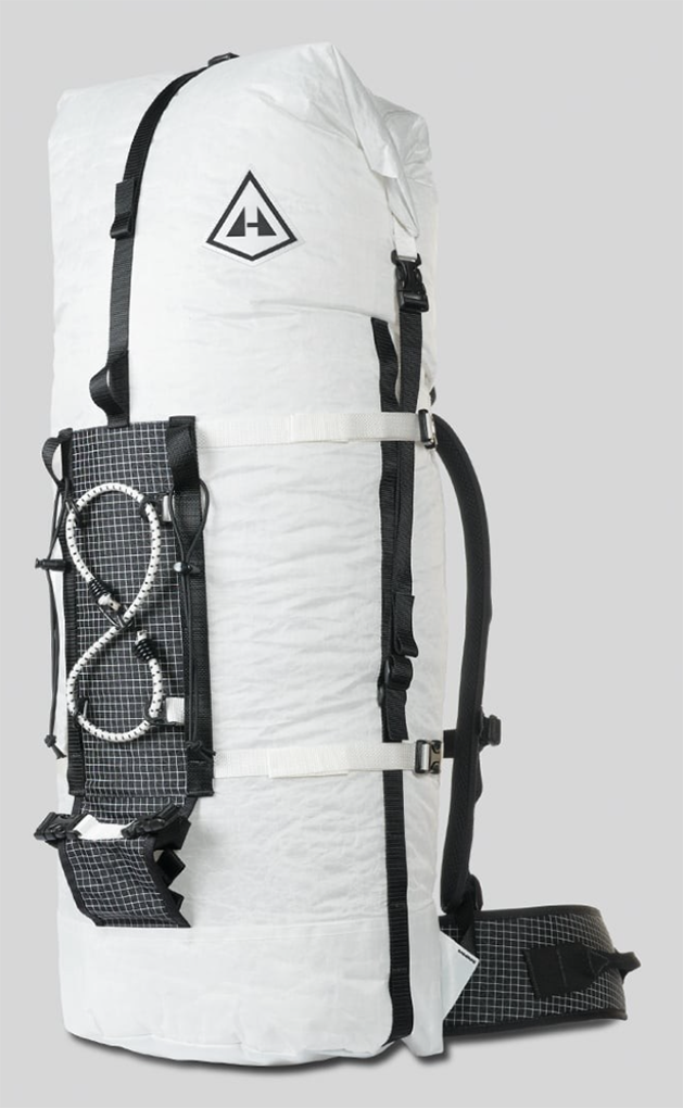 Matt Zia reviews the Hyperlite Mountain Gear HMG Dyneema Ice Pack 3400 for Blister Gear Review