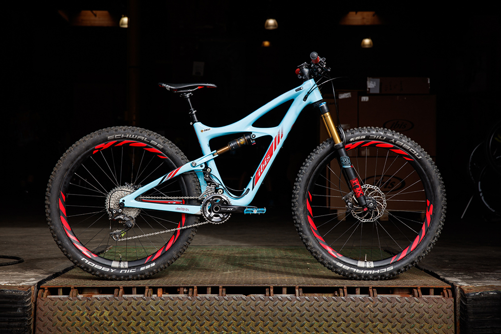 Noah Bodman Ibis Mojo HD3 swap for Blister Gear Review