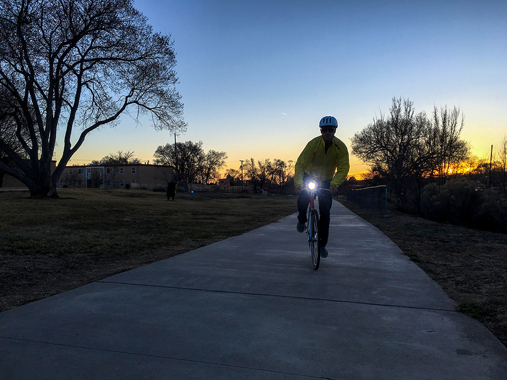 Nate Murray Commuter Bike Light Comparison for Blister Review.