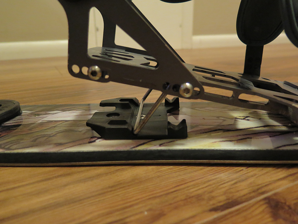 Jed Doane reviews the Spark R&D Arc split board binding for Blister Gear Review.