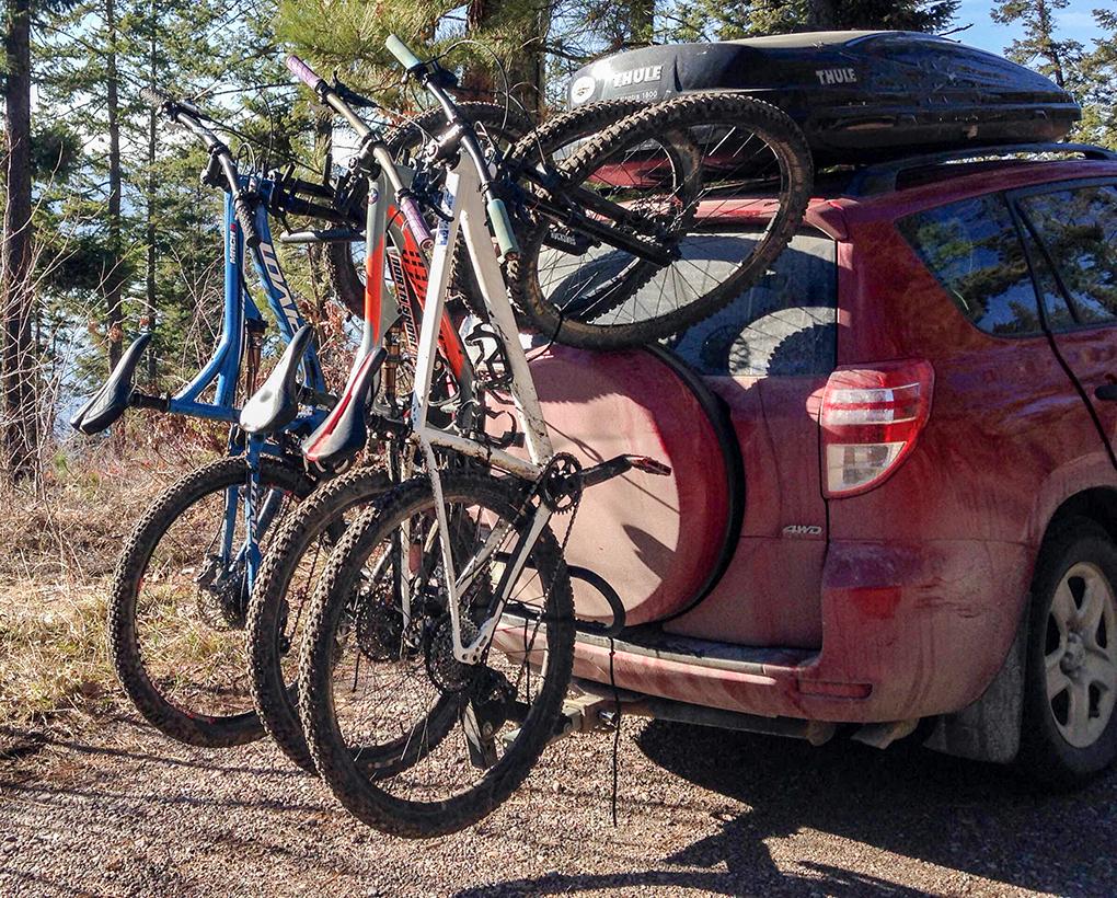 northshore bike rack