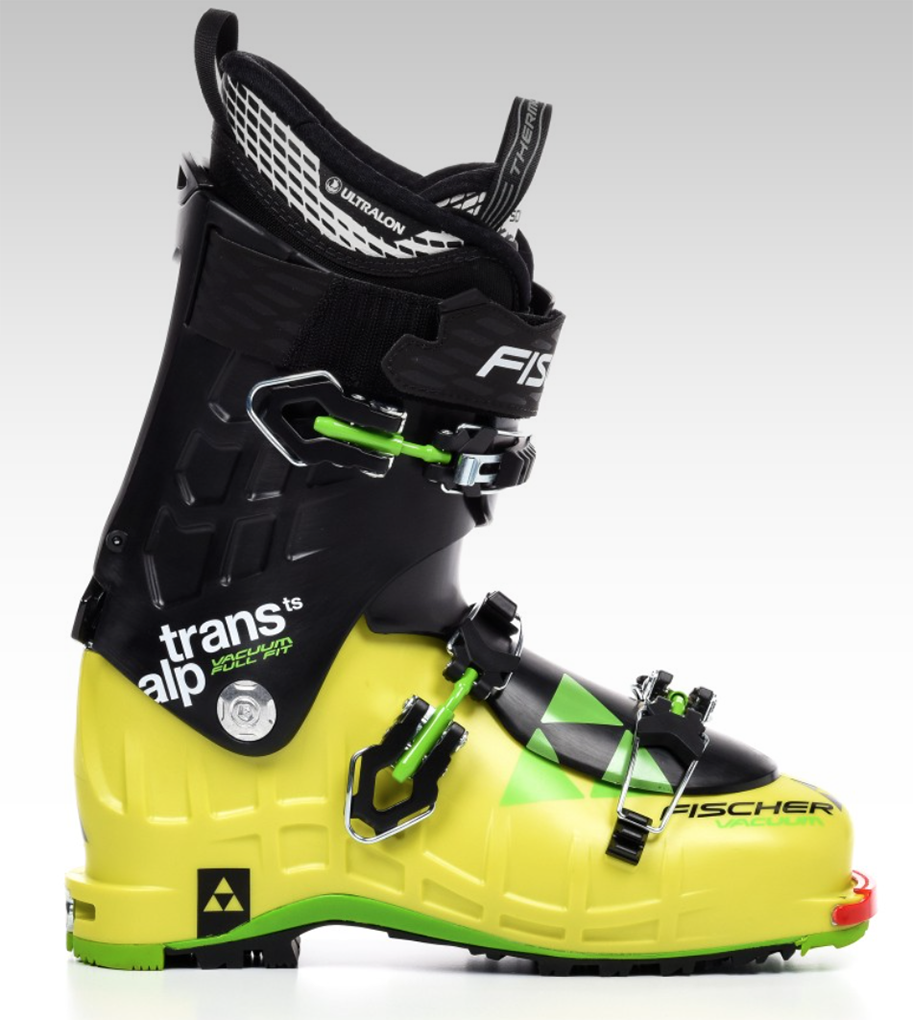 Cy Whitling reviews the Fischer TransAlp Vacuum TS for Blister Gear Review,