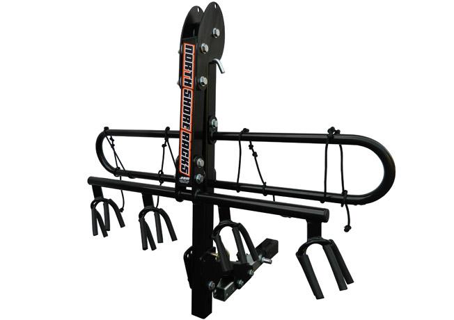Marti Bruce reviews the North Shore Racks NSR 4 Bike Rack for Blister Gear Review.