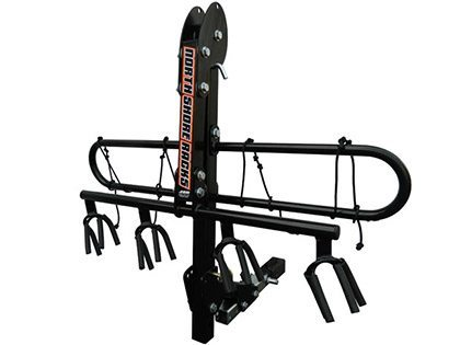 Marti Bruce reviews the North Shore Racks NSR 4 Bike Rack for Blister Gear Review.