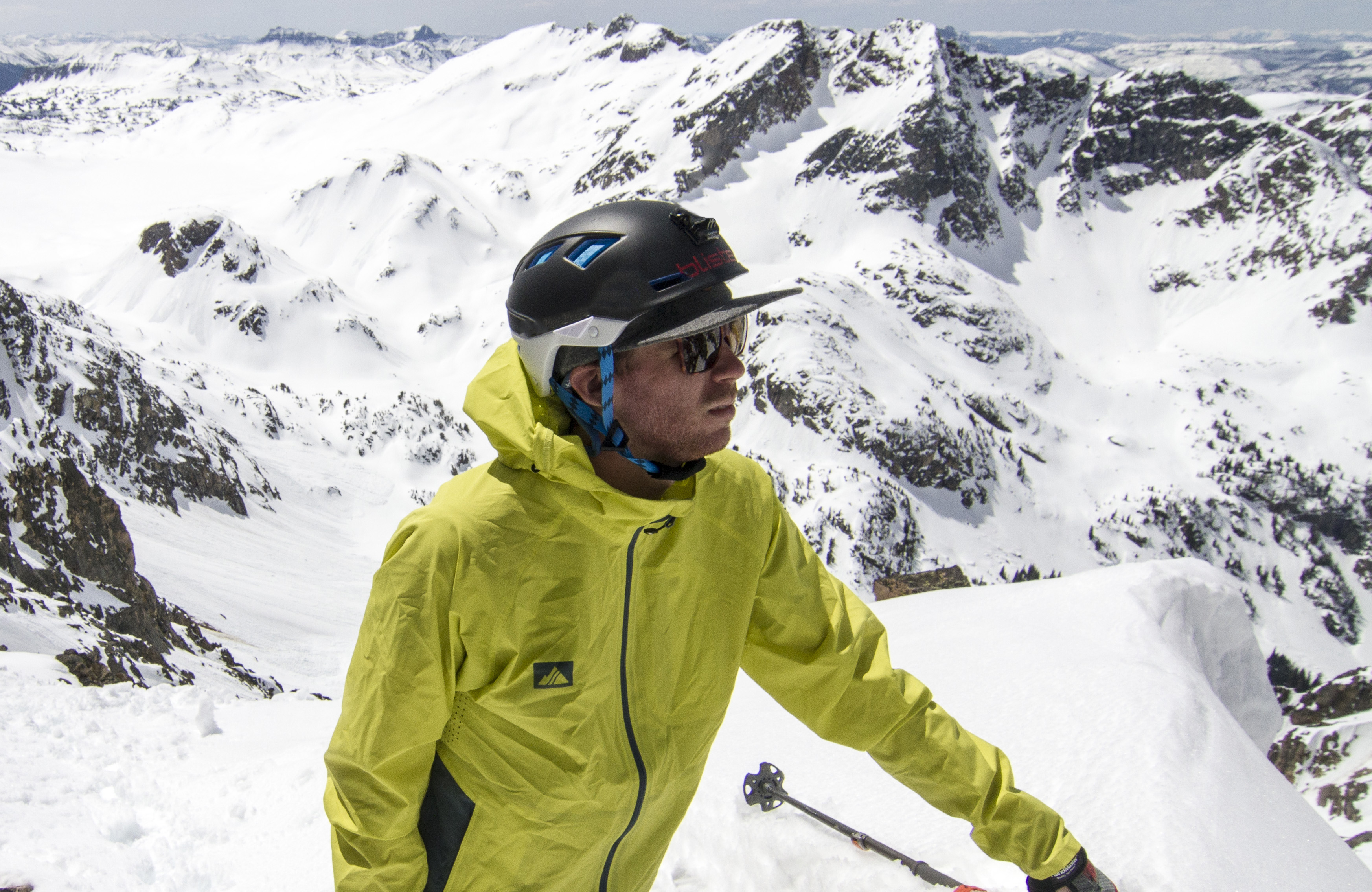 Cy Whitling reviews the Salomon MTN Lab helmet for Blister Gear Review.
