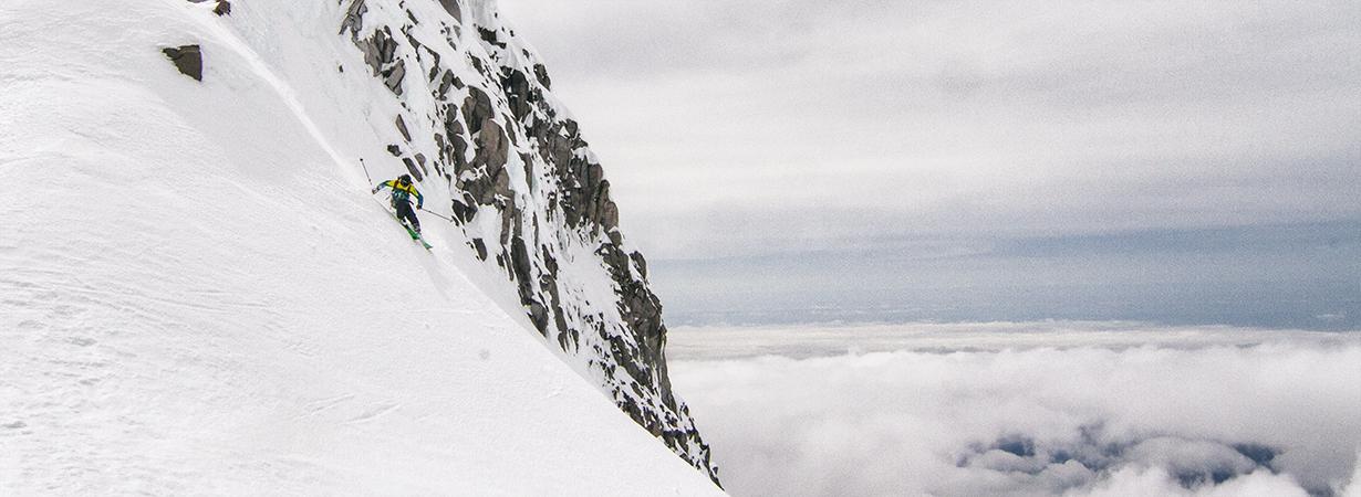 Jonathan Ellsworth on the Blizzard Zero G 95, Mt. Hood, Oregon.
