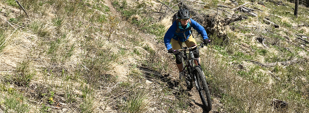 Marti Bruce reviews the Patagonia Dirt Craft Jacket and shorts for Blister Gear Review.