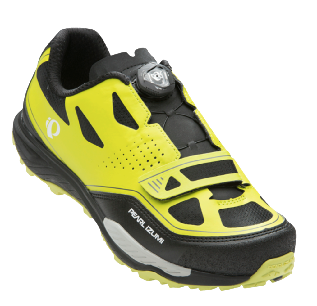 Marti Bruce reviews the Pearl Izumi X-Alp Launch II  Bike Shoe for Blister Gear Review.