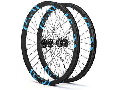 Loaded Precision X40 27.5 Hookless Carbon Wheelset