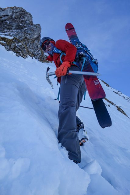 Sam Shaheen reviews the Petzl Sum'Tec ice axe for Blister Gear Review.