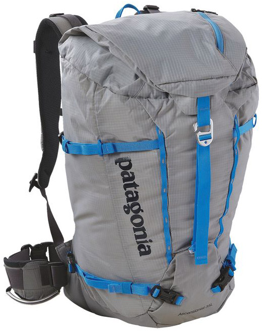 Sam Shaheen reviews the Patagonia Ascensionist 35 for Blister Gear Review.